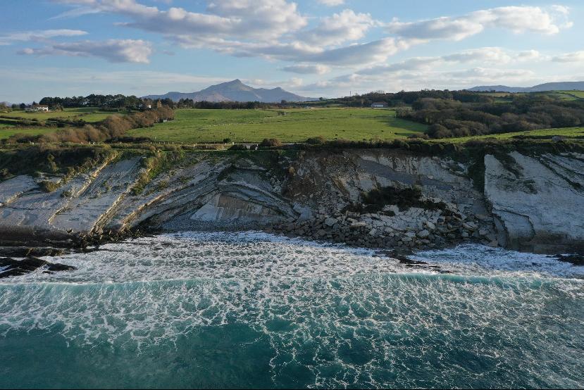 Projet Ezponda : étudier les processus d'altération des falaises rocheuses